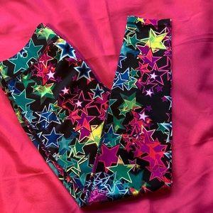 Fila colorful stars compression leggings